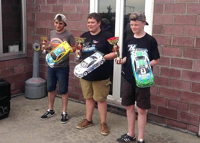 Another Podium for Stefan Rommens / Team Magic E4RS III+ at Roeselare / Belgium Nats