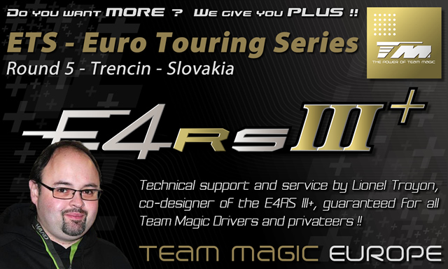 Technical Support and Service at ETS round 5 @ Trencin in Slovakia