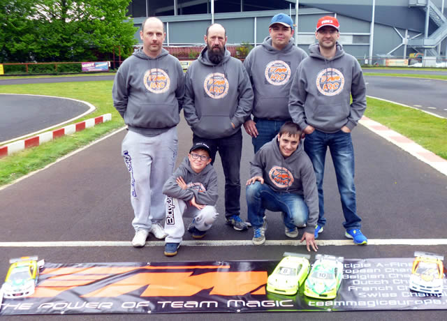 Stefan Rommens / Team Magic E4RS III+ on the podium at Belgian Nationals Round 1 !