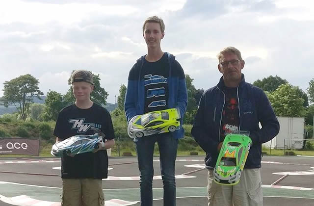First Podium for Michael Schwickert with Team Magic @ TOS Mitte R4 at Andernach