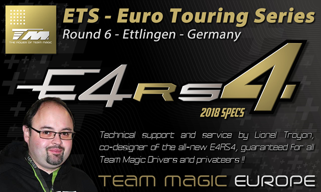 Team Magic presence & Technical Support at ETS round 6 @ Ettlingen in Germany