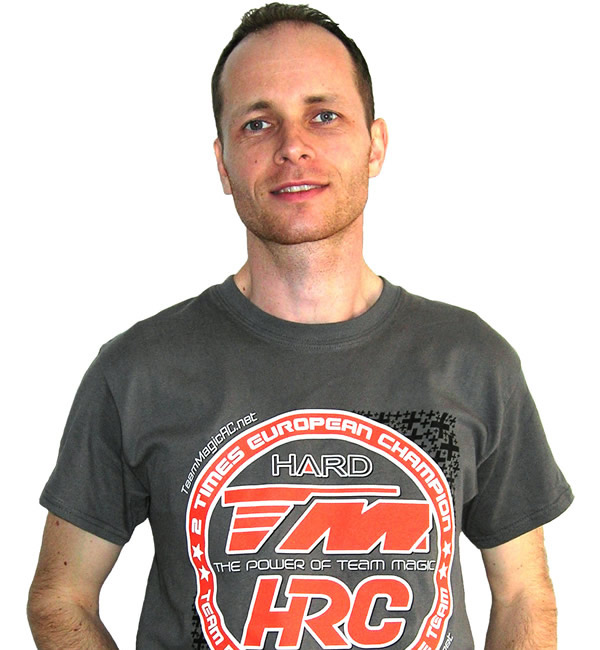 Thomas Vigneron - 2017 Modified Euro A-Finalist - extends contract with Team Magic / HRC for 2018