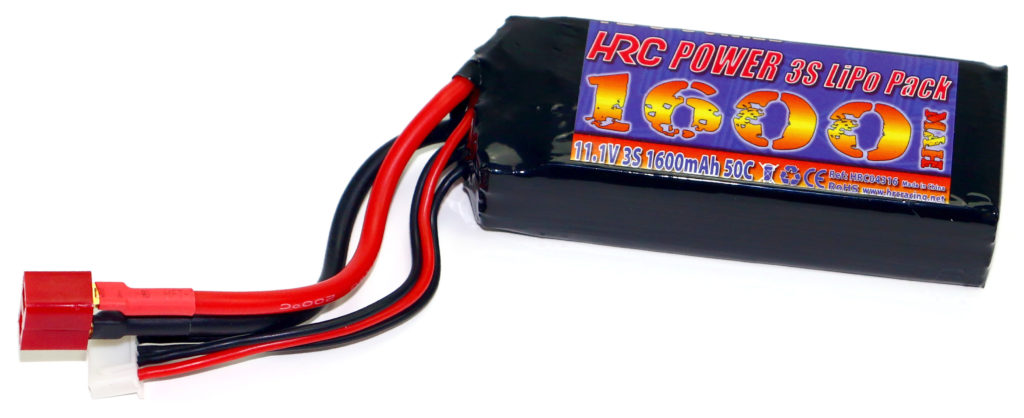 HRC Racing 3S Lipo Battery for 1/16 and 1/18 Micro Cars